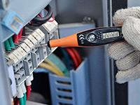 必威体育官网安装完成不通电,用电笔测量为啥会显示有电?